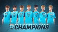London Spitfire Overwatch League 2018