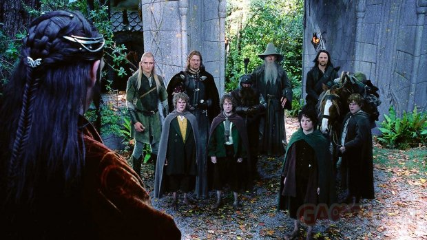 Lord of the Rings the Fellowship of the Ring Le Seigneur des Anneaux head