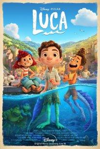 Luca Disney 2021 poster affiche