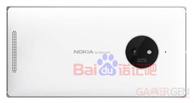 Lumia 830 render