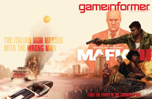 Mafia III 06 10 2015 cover Game Informer