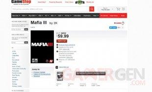 Mafia III GameStop