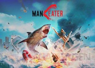 Maneater Nintendo Switch Date sortie Keyart