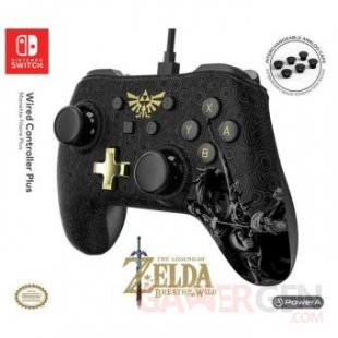 Manette filaire Nintendo Switch Plus Zelda (1)