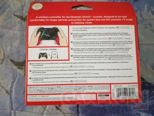 Manette Pro Controller Switch Xenoblade Chronicles 2 unboxing déballage 02 30 12 2017