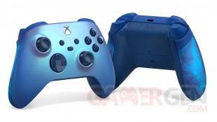 Manette Xbox aqua shift special edition2