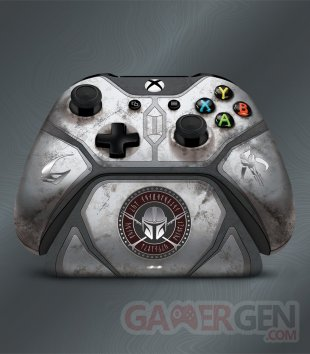 Manette Xbox One Mandalorian 01
