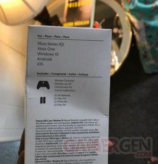 Manette Xbox Series fuite 02 10 08 2020