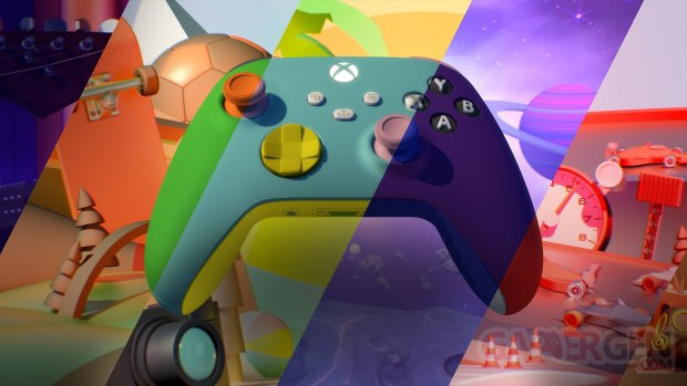 Manette Xbox Series X S Design Lab 2021