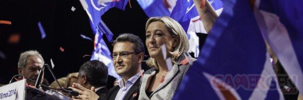 Marine Le Pen banner