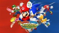 Mario et Sonic aux Jeux Olympiques de Rio 2016 artwork