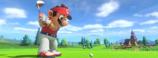 Mario Golf Super Rush Test (Bannière)