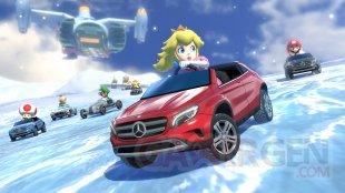 Mario Kart 8 06 08 2014 DLC Mercedez screenshot 2