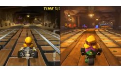 Mario Kart 8 comparaison video