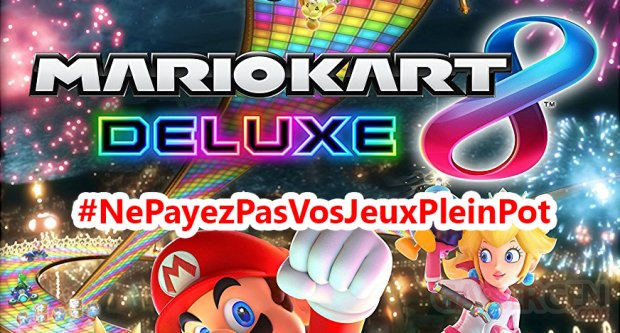 bon plan mario kart 8 deluxe o le trouver pas cher nepayezpasvosjeuxpleinpot gamergen com. Black Bedroom Furniture Sets. Home Design Ideas
