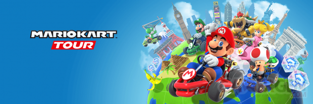 Mario Kart Tour banner