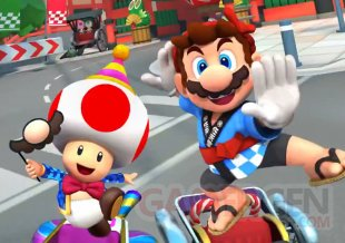 Mario kart Tour image saison fin d'annee