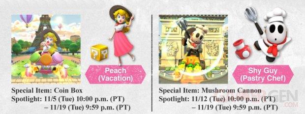 Mario Kart Tour images paris peach marakass (2)