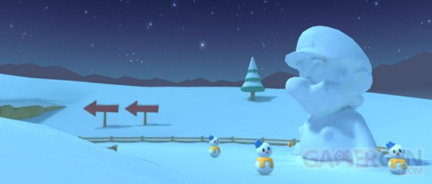 Mario Kart Tour images saison hivernal (1)