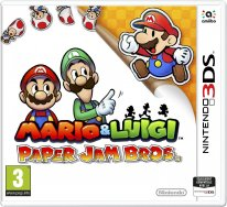 Mario & Luigi Paper Jam Bros jaquette