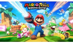 Mario Rabbids Kingdom Battle key art
