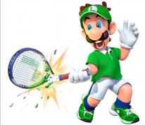 Mario Tennis Ace Luigi