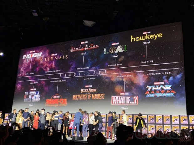 Marvel Cinematic Universe MCU Phase 4 21 07 2019