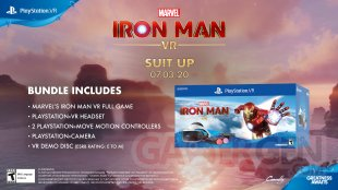 Marvel Iron Man VR bundle Amérique 21 05 2020