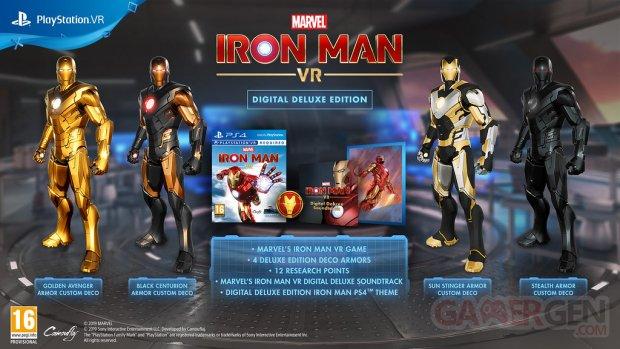 Marvel Iron Man VR édition numérique Deluxe 04 10 2019