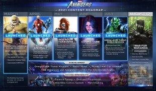 Marvel's Avenger roadmap 29 07 2021