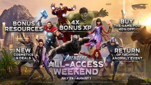 Marvel's Avenger week end gratuit 29 07 2021