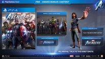 Marvel's Avengers bonus
