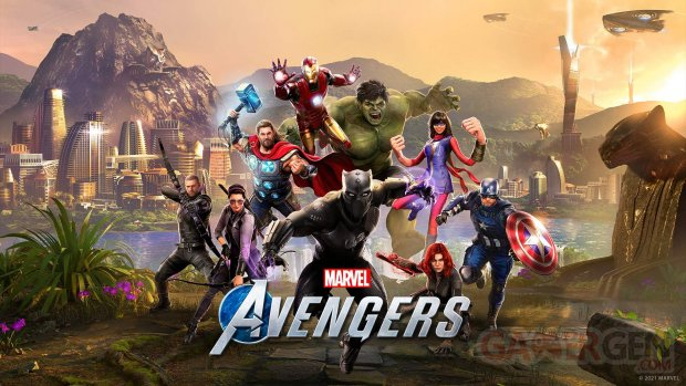 Marvel's Avengers Edition Endgame key art