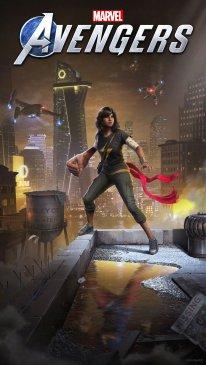 Marvel's Avengers Kamala Khan art