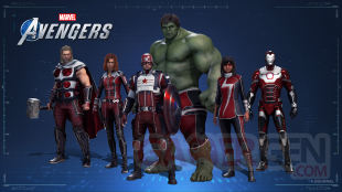 Marvel's Avengers skins exclusifs collaboration 1