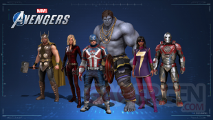 Marvel's Avengers skins exclusifs collaboration 2