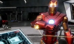 Marvel's Iron Man VR head
