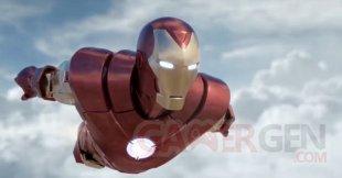 Marvel's Iron Man VR head