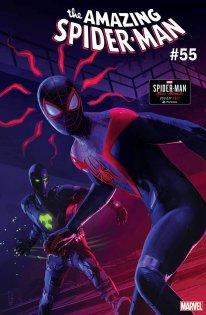 Marvel's Spider Man Miles Morales variant cover Amazing Spider Man Rodeur