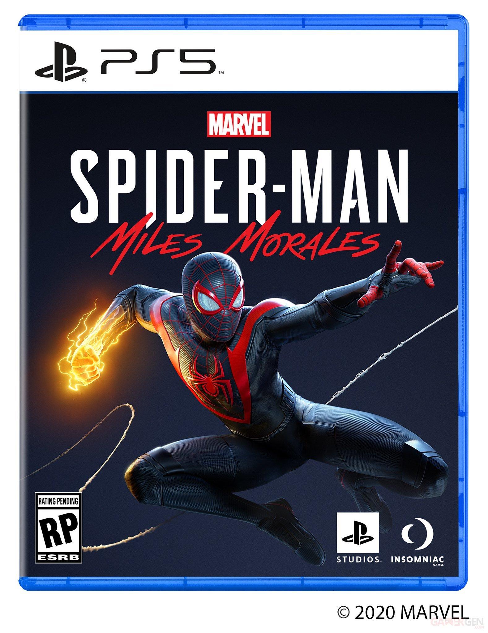 PS5 : une première boîte de jeu dévoilée, celle de Marvel's Spider ...