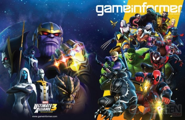 Marvel Ultimate Alliance 3 The Black Order cover