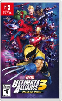 Marvel Ultimate Alliance 3 The Black Order jaquette 2