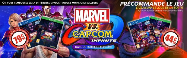 Marvel vs Capcom Infinite Août 2017