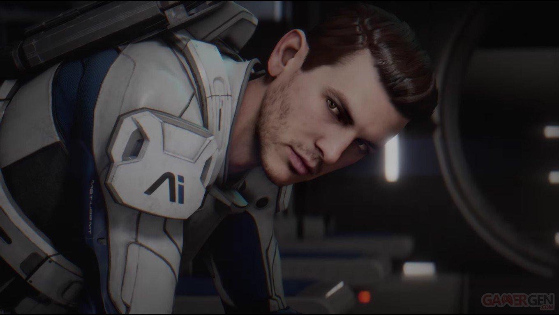 Mass Effect Andromeda : la sélection de personnage en