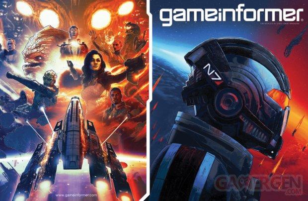 Mass Effect Edition Légendaire GameInformer 01 02 02 2021