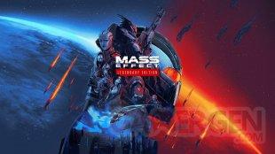 Mass Effect Legendary Edition key art wallpaper fond d'écran