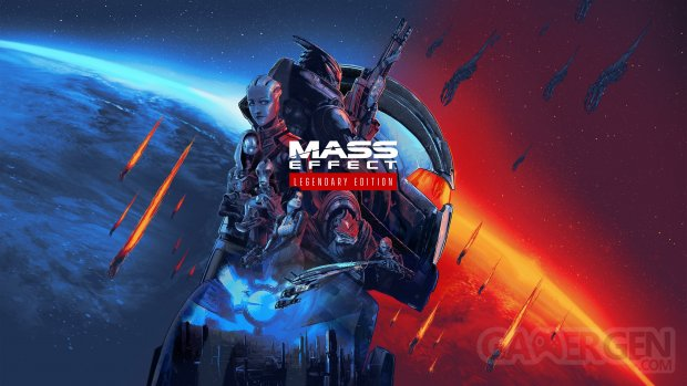 Mass Effect Legendary Edition key art wallpaper fond d'écran