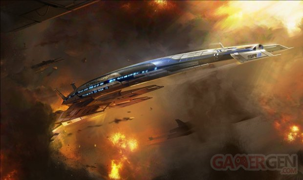 Mass Effect parc attractions