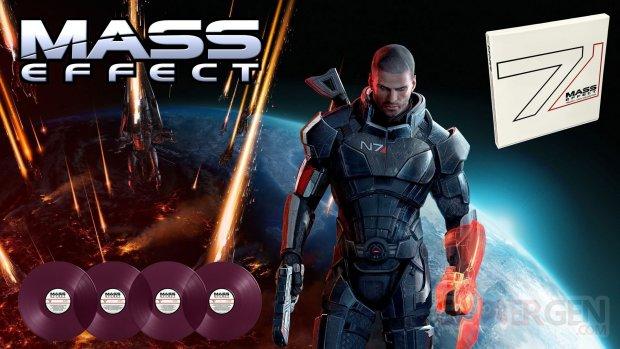 Mass Effect Trilogy vinyles just for games violets