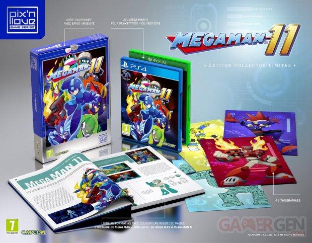 Mega Man 11 collector Pix'n Love 08 08 2018